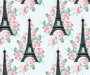 flowers, paris, and wallpaper image