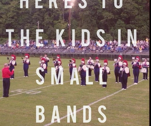 marching band, band geeks, and small bands image