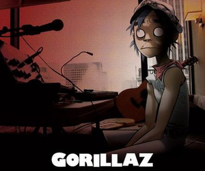 gorillaz, the fall, and 2d image