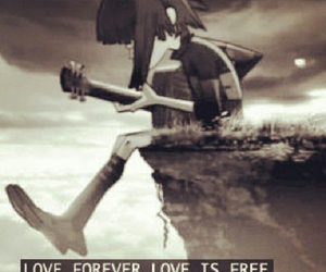 gorillaz, love, and forever image