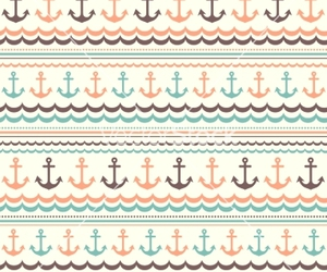 anchor, pattern, and retro image