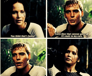 the hunger games, catching fire, and finnick image