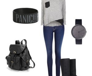 casual, outfit, and pretty image