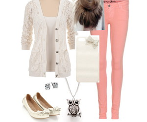 casual, pretty, and outfit image