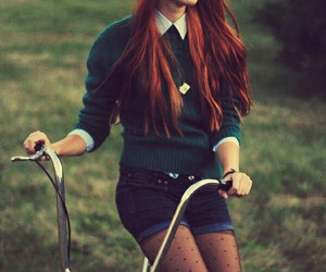 fashion, bike, and outfit image
