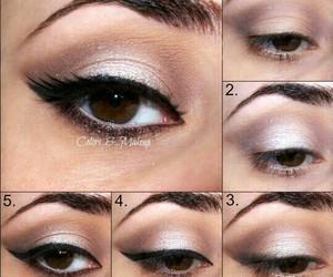 makeup, tutorial, and make-up image