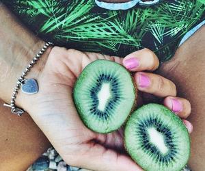 kiwi, fruit, and summer image