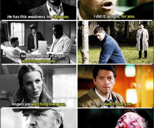 angel, celebrity, and dean winchester image