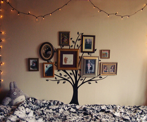 tree, light, and room image