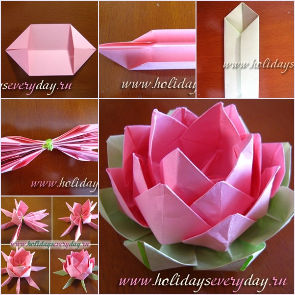 Origami Flower - Сute and Easy Paper Flowers for decoration | Easy ... | 602x602