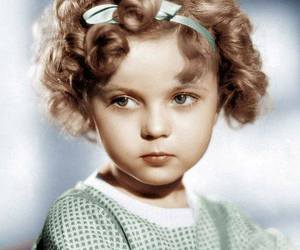 shirley temple and vintage image