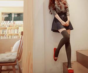 kfashion, korean fashion, and fashion image