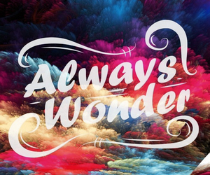 always, color, and quote image