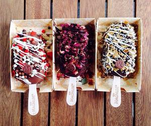 food, ice cream, and Magnum image