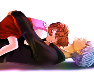 souji, persona4, and brother image