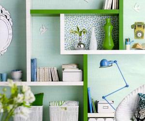 shelves, diy, and ikea image