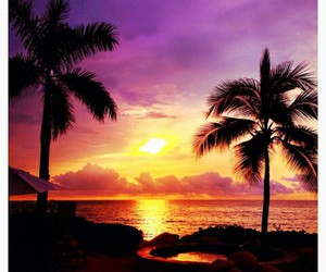 paradise, beautiful, and sky image