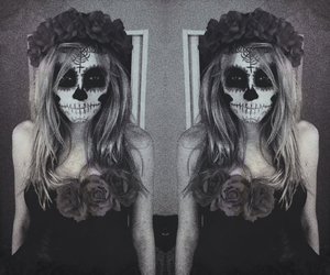dead, Halloween, and make up image
