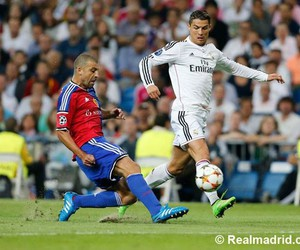 cristiano ronaldo, football, and hala madrid image