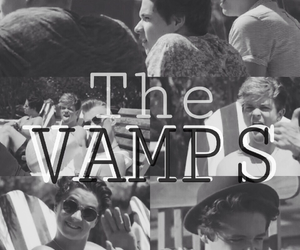 james, the vamps, and bradley simpson image