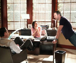 cuddy, Dr. House, and forever image