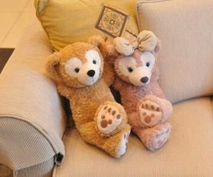 bear, couple, and duffy image