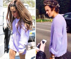 outfit, ariana, and longsleeves image
