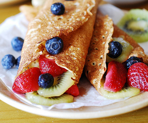 berries, dessert, and fruit image