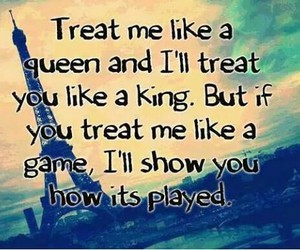 Queen, game, and quotes image