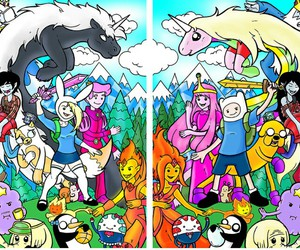 adventure time and finn image