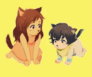 ame, anime, and illustration image