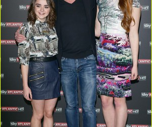 game of thrones, sophie turner, and liam cunningham image