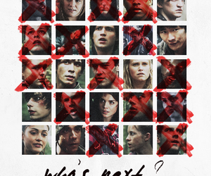 show, tv show, and the 100 image