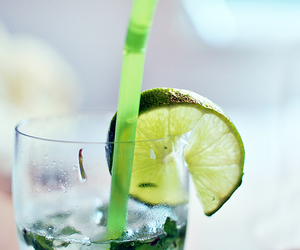 alcohol, drink, and lime image