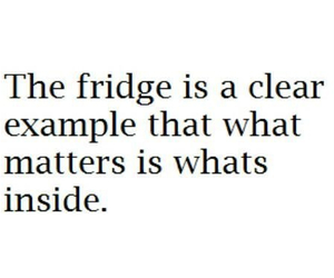 fridge, funny, and quote image
