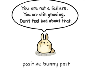 positive, cute, and bunny image