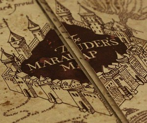 harry potter and the marauder's map image