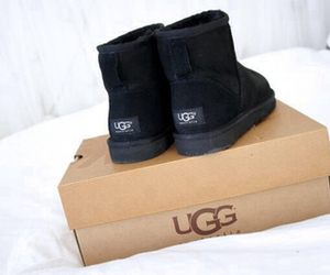 ugg, fashion, and black image