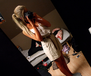 beautifull, blonde, and canon image