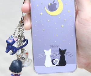apple, iphone, and luna image