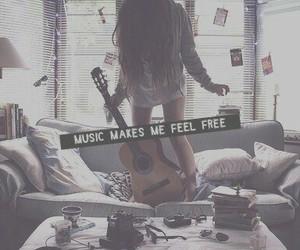 free, music, and girl image