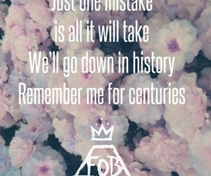 fall out boy, FOB, and centuries image