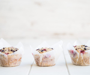 food, cake, and muffin image