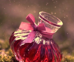 pink, perfume, and magic image