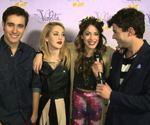 tini, jorge blanco, and mercedes lambre image