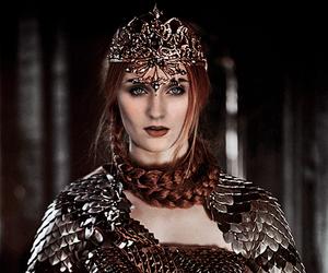 game of thrones, sansa stark, and sophie turner image