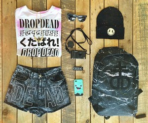drop dead and style image