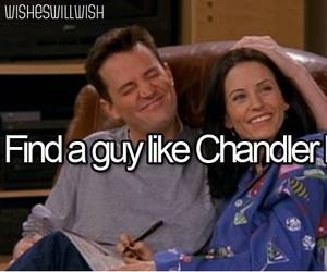 chandler bing, friends, and f.r.i.e.n.d.s image