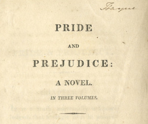 book, pride and prejudice, and vintage image