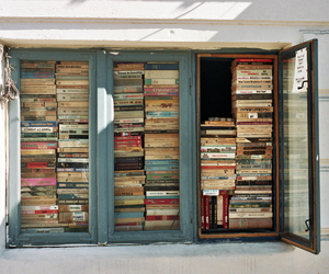 books, read, and window image